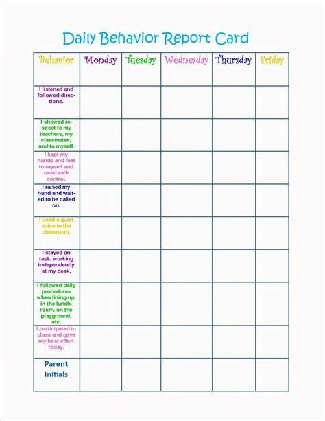 behavior charts printable for activity shelter 305 | 5546f9295c8a07a0c64eadb7807ad981