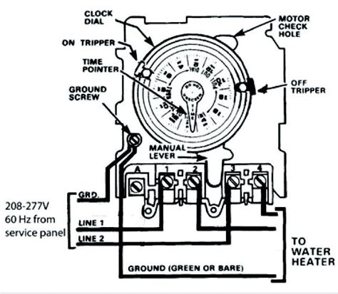 Need Help Wiring Intermatic Water Heater Time