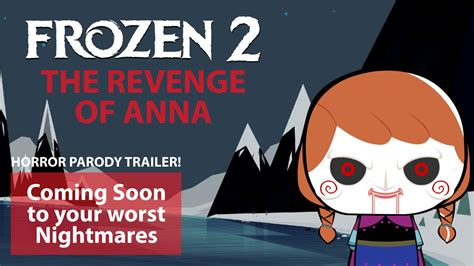 funny frozen  trailer  revenge  anna frozen funny