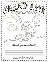 Coloring Dance Jazz Ballet Positions Ballerina Sheets Gymnastics Printable Colouring Band Camp Jete Grand Shine Dancers Bright Position Diamond Tap sketch template