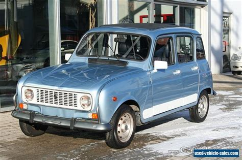 Renault 4 For Sale by 1990 Renault 4 Sun Roof Air Conditioning For Sale In Canada