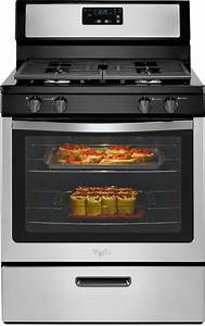 Whirlpool Wfg320m0bs 30 Inch Freestanding Gas Range With 5