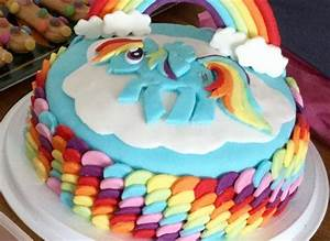 rainbow dash party cake the great british bake off With rainbow dash cake template
