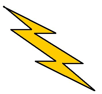 Lightning Bolt Clip Lighting Bolt Clip Clipart Panda Free Clipart Images