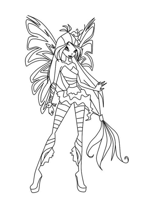 Winx Sirenix Kleurplaten by Winx Sirenix Coloring Pages Winx Sirenix Coloring Pages