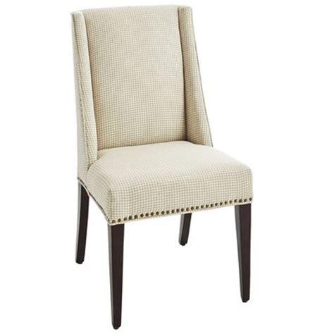 owen wingback dining chair gray