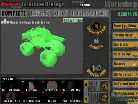 gearhead garage snap on presents gearhead garage the