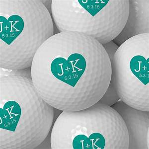 custom golf ball wedding favor personalized golf balls bulk With wedding favor golf balls
