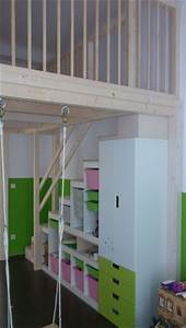 Hochbett Mit Schaukel : hochbetten kinderbetten und hochebenen mccarthy 39 s individuelle holzl sungen hochbett loft ~ Sanjose-hotels-ca.com Haus und Dekorationen