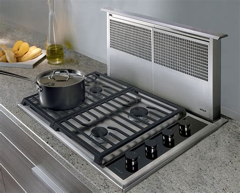 downdraft exhaust fan for cooktop 762mm downdraft system