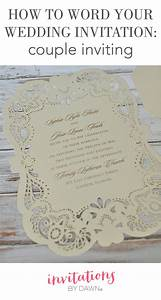 how to word your wedding invitations couple inviting With how to print wedding invitations in word
