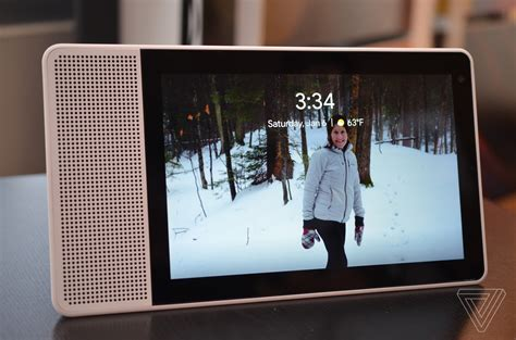 lenovo and created their own echo show that