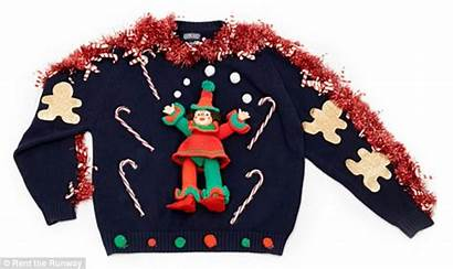 Sweater Ugly Christmas Sweaters Holiday Rent Four