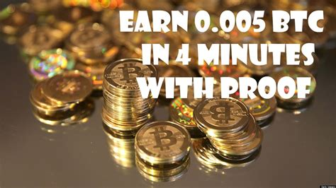 We added the most popular currencies and cryptocurrencies for our calculator. Earn Bitcoin 0 005 in 4 minutes with Proof 2016 - YouTube