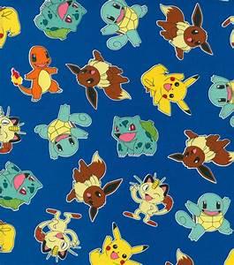 pokemon fabric by the yard pokemon