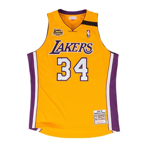 All the best los angeles lakers gear including lakers finals champions apparel like lakers nba the official lakers pro shop at nba store has all the authentic lakers jerseys, hats, tees, apparel. Mitchell & Ness | LA Lakers Yellow Shaquille O'Neal 1999 ...