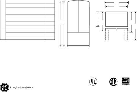 ge refrigerator gfsskkyss user guide manualsonlinecom