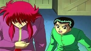 YYH Yusuke Vs Hiei1st Fight Part 22 720p HD YouTube