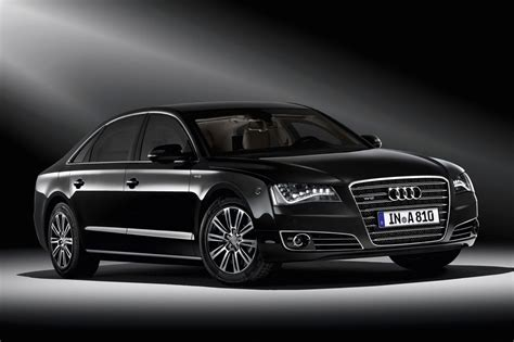 Armored Audi A8 L Security Car Combine Maximum Protection