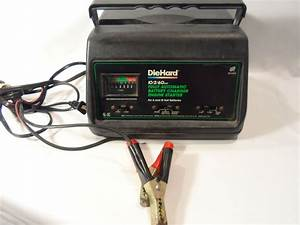 Diehard Fully Automatic Battery Charger Engine Starter 10