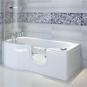 Badewanne Mit Griff : skali badewanne mit t r seniorenbadewanne 167 5x85 75cm ~ Lizthompson.info Haus und Dekorationen
