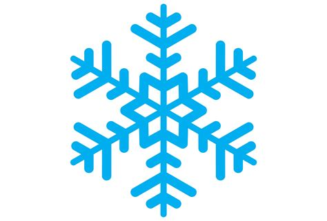 Snowflake Clipart Snowflake Clipart Simple Snowflake Pencil And In Color