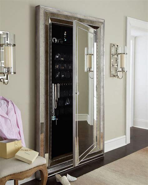 Nice Floor Mirror Armoire For Glam Floor Mirror W Hidden