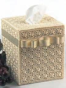 plastic canvas tissue topper smyrna cross tissue box cover