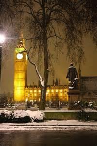 London England Snow