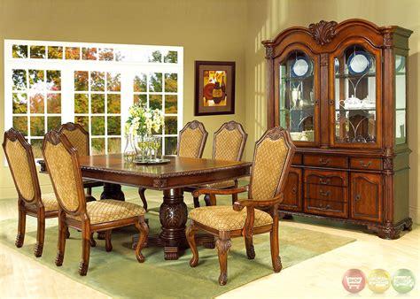 betty cherry traditional medium wood formal dining set