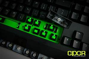 Review  Razer Blackwidow Ultimate 2014  Razer Green