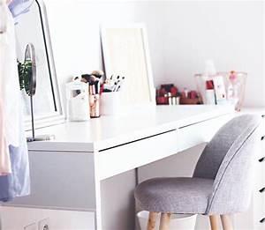 Table De Maquillage Ikea : coiffeuse blanche ikea top table de dressage habilleur ~ Teatrodelosmanantiales.com Idées de Décoration