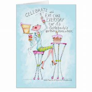 Funny Woman Birthday Cards, Invitations, Photocards & More