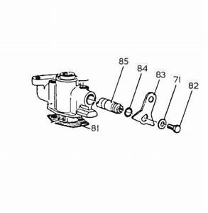 Cav Dpa Hydraulically Governed Pump Stop Shaft Used