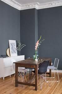 Graue Wand Wohnzimmer : von hell zu dunkel farbumstyling farrow ball dunkle wandfarbe farrow ball und graue w nde ~ Indierocktalk.com Haus und Dekorationen