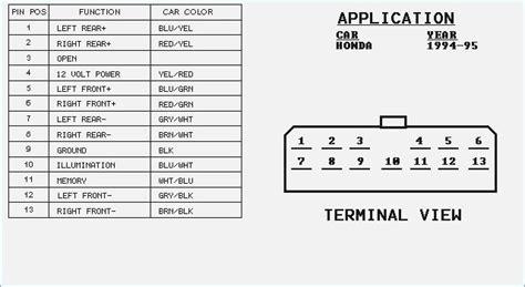 Honda Civic Radio Wiring Diagram Auto Electrical