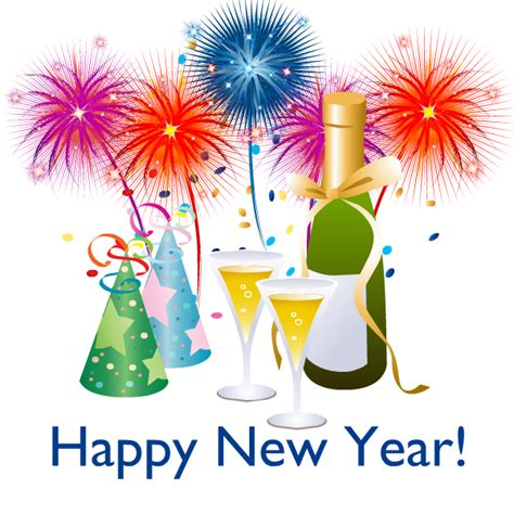 Free Clip Art Happy New Year 6 4 Wikiclipart Clipartandscrap