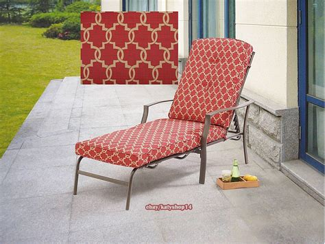 Patio Chaise Lounge Outdoor Relax Chair Adjustable Back