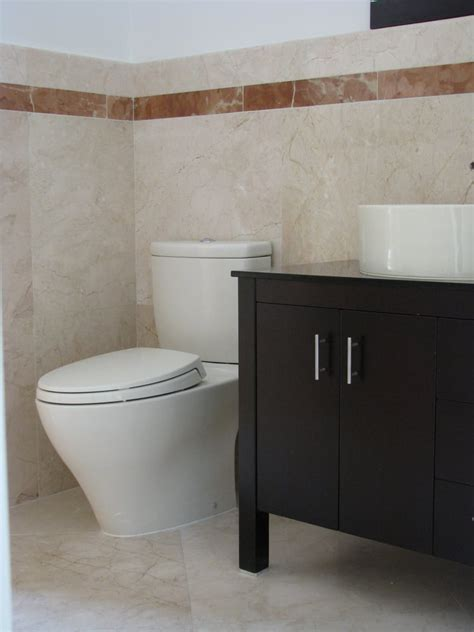 tile flooring hialeah bathroom with rojo alicante marble trim and crema marfil floors and walls yelp