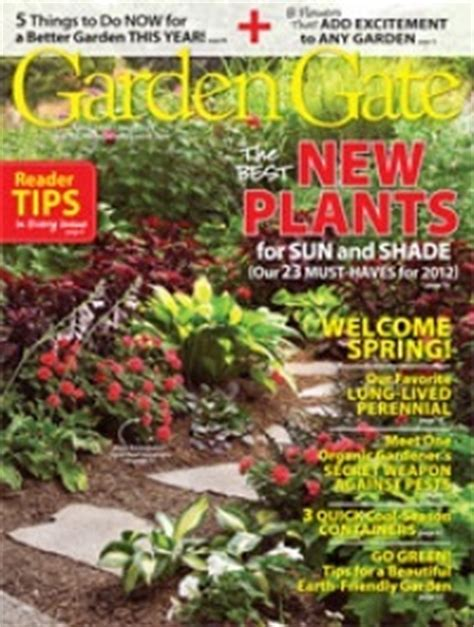 garden gate magazine 21 best images about magazines on gardens