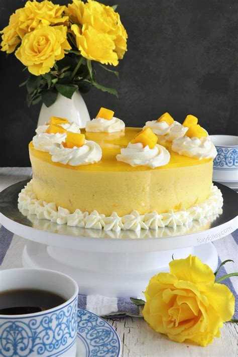 mango cream cake recipe filipino