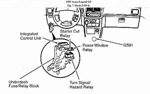 How Do I Remove Fuse Box In 95 Acura Legend