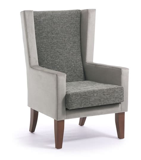 High Backed Armchair by Ophelia High Back Armchair Cfs Contract Furniture