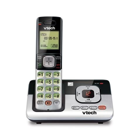 landline phones walmart cordless answering system with caller id call waiting