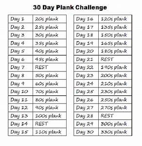 30 Tage Fitness : 30 day plank challenge google search sport pinterest squat challenge 30 days squat ~ Frokenaadalensverden.com Haus und Dekorationen