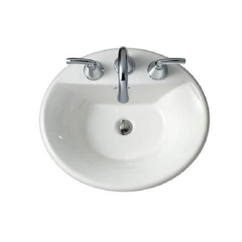 Eljer Bathroom Sinks by Eljer Diplomat Oval Countertop Sink Product Detail