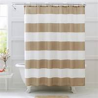 striped shower curtains Better Homes and Gardens Porter Stripe Fabric Shower ...
