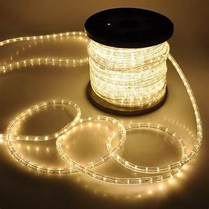 150 U0026 39  Led Rope Light 110v 2 Wire Party Home Christmas