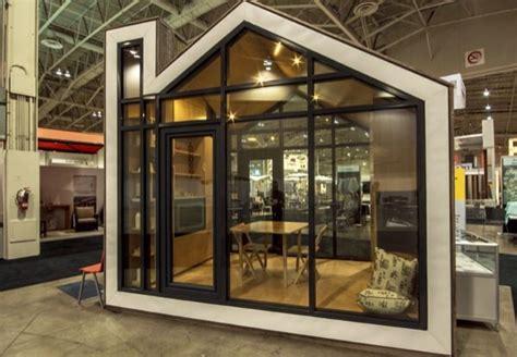 prefab  modern bunkie tiny house concept
