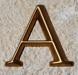 14 best house address numbers images on pinterest house With plastic house numbers and letters